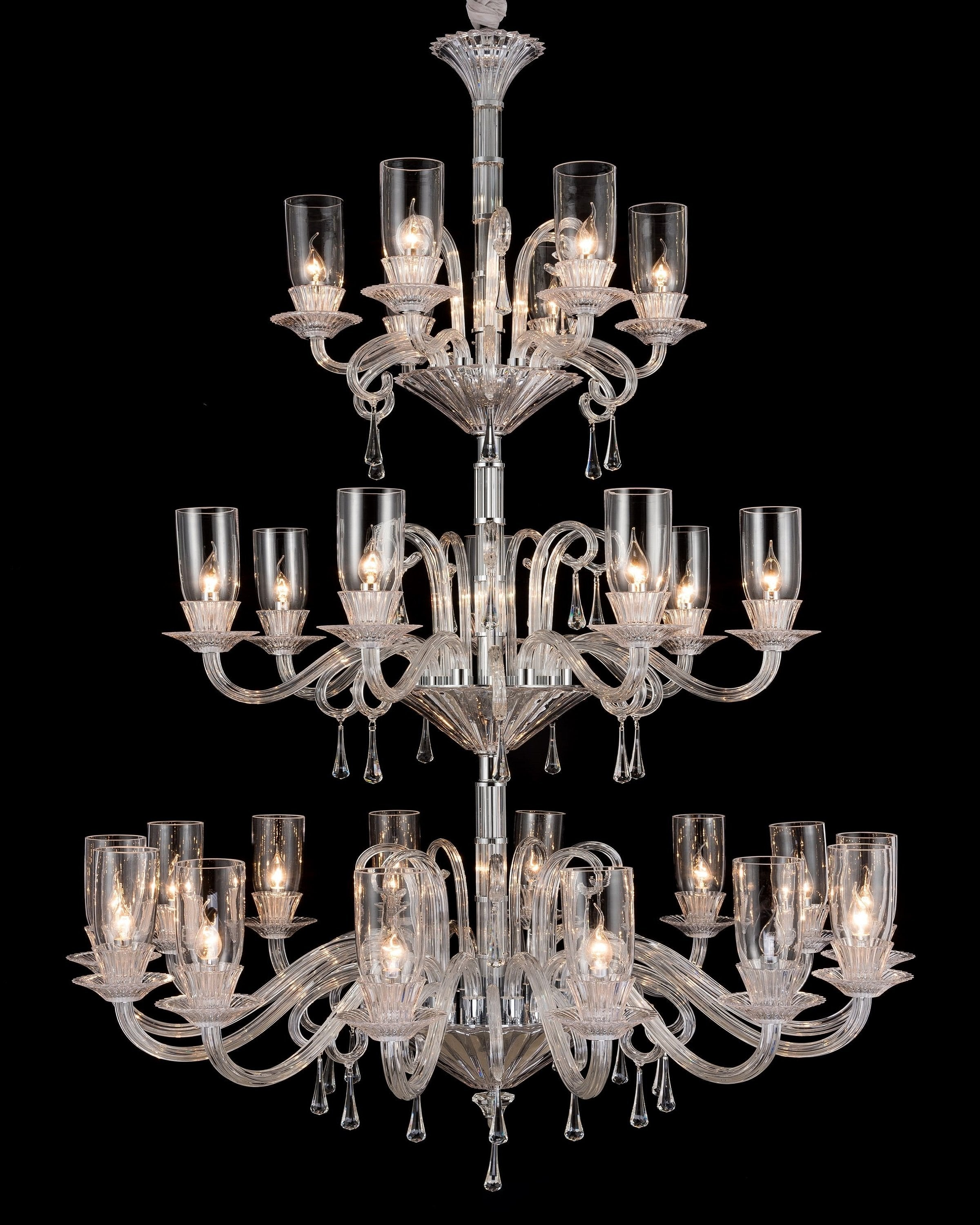 Luxury fusion crystal chandelier | ANGIE HOMES
