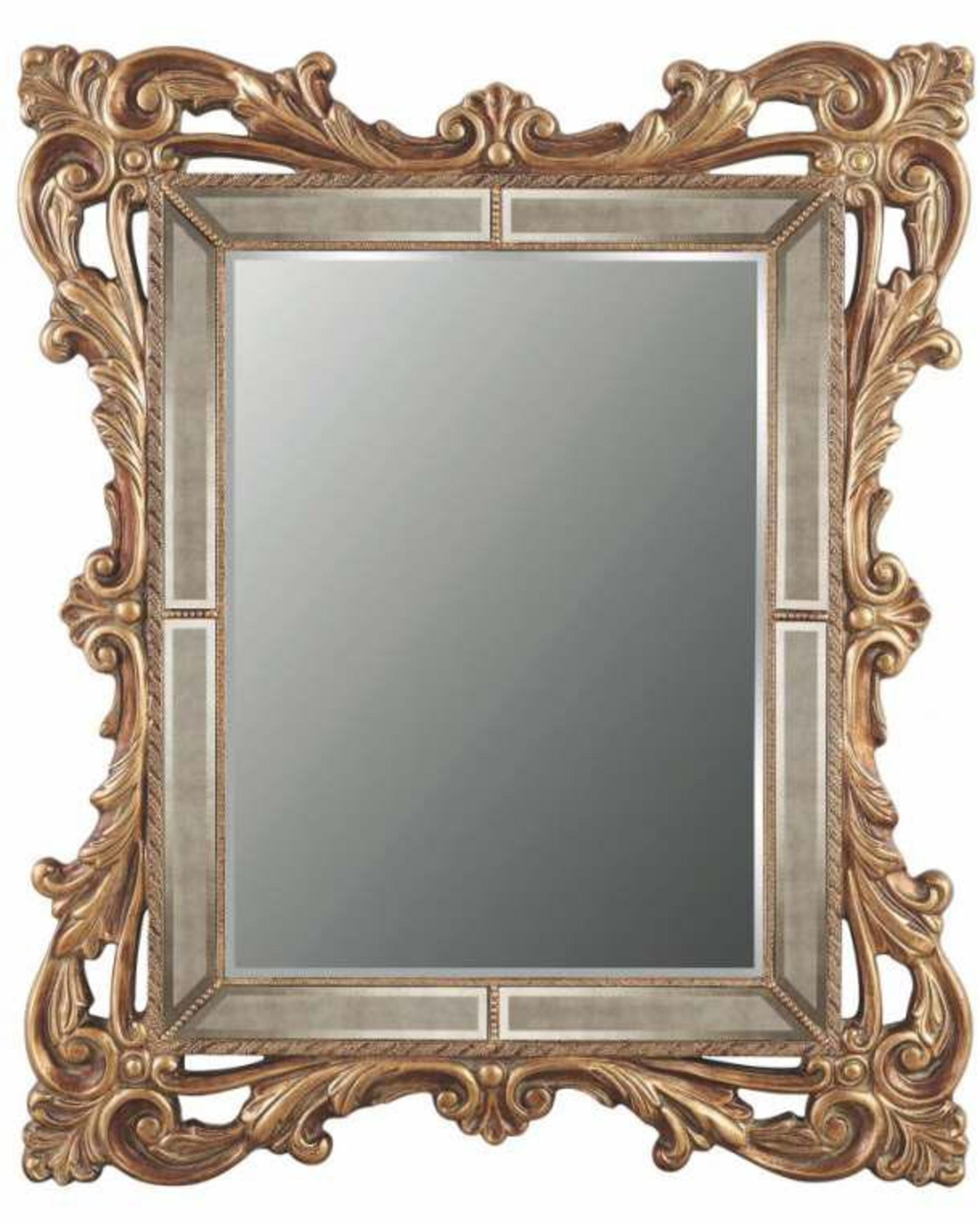 RHEA CLASSIC GOLD MIRROR- ANGIE'S INDIA ANGHI HOMES