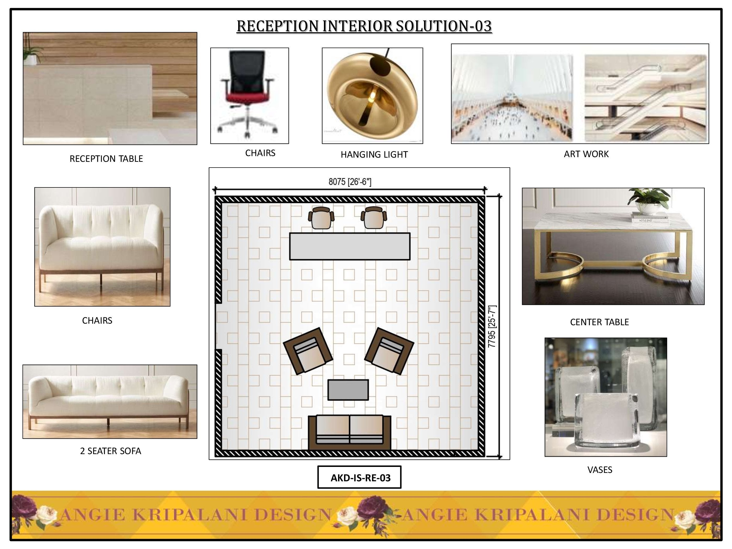 Luxury Reception Interior Solution-178 ANGIE HOMES