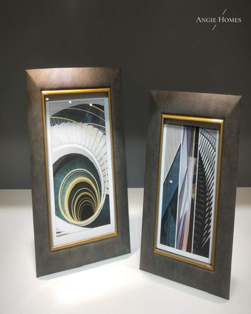 SHAPE PHOTO FRAME- ANGIE'S INDIA ANGIE KRIPALANI DESIGN - ANGIE HOMES