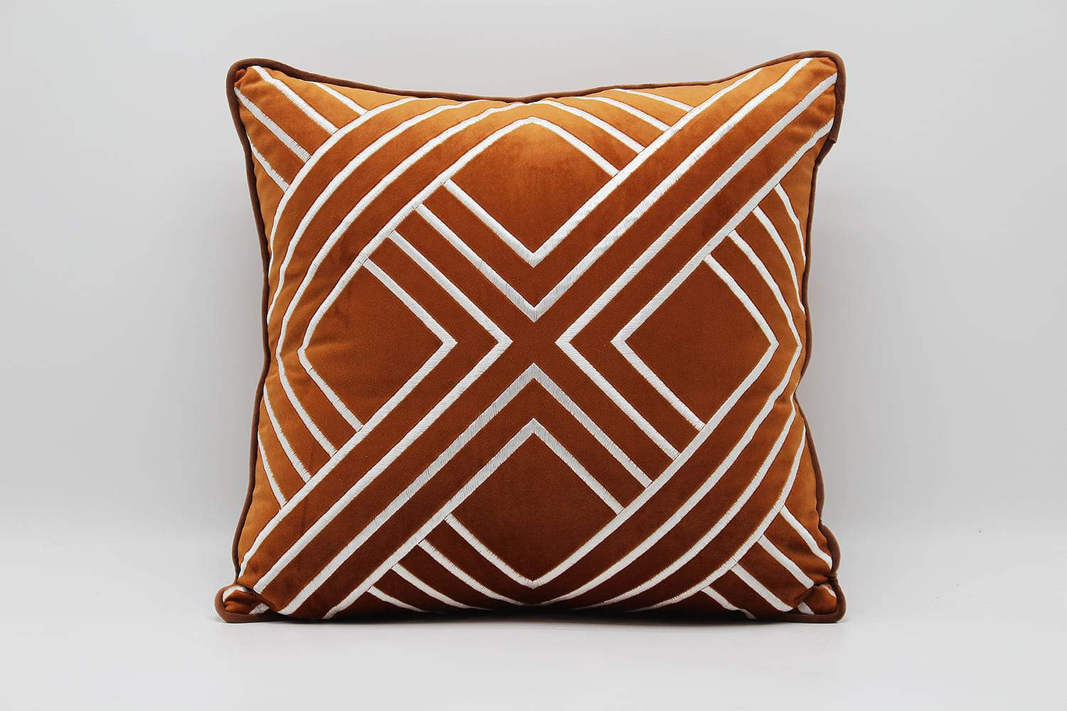 SQUARE LUXURY BROWN  CUSHIONS - ANGIE HOMES ANGIE HOMES