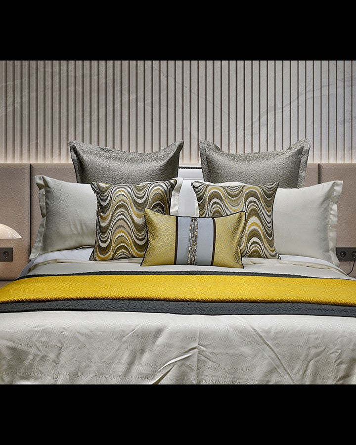 Luxury grey and light bed sets | Angie Homes