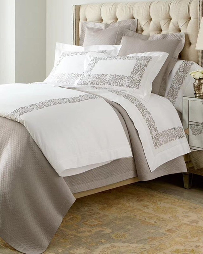 Luxury Modern grey and white bed sets | Angie Homes