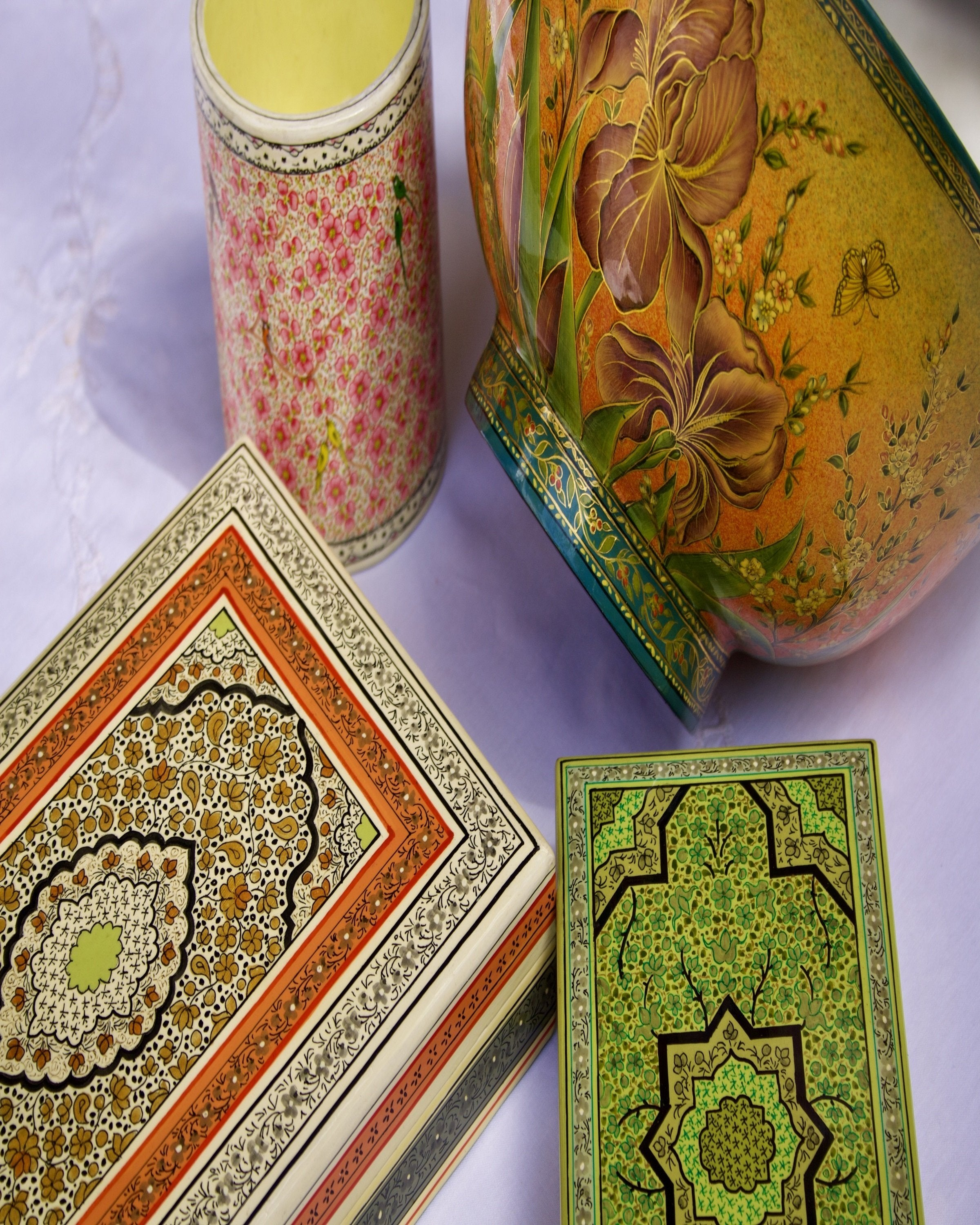 Luxury classic Kashmiri box - ANGIES INDIA