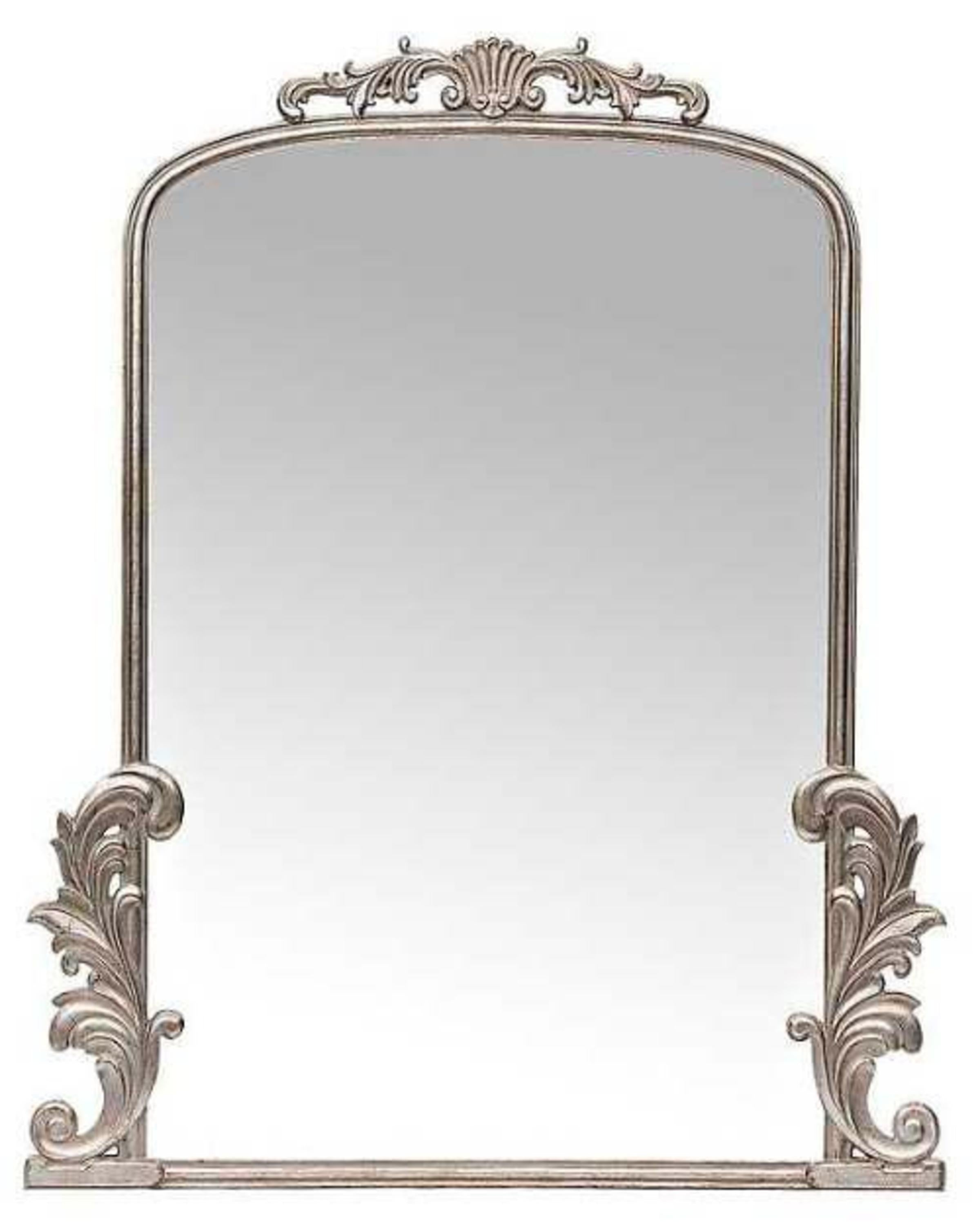 WARI CLASSIC SILVER MIRROR- ANGIE'S INDIA ANGIE HOMES