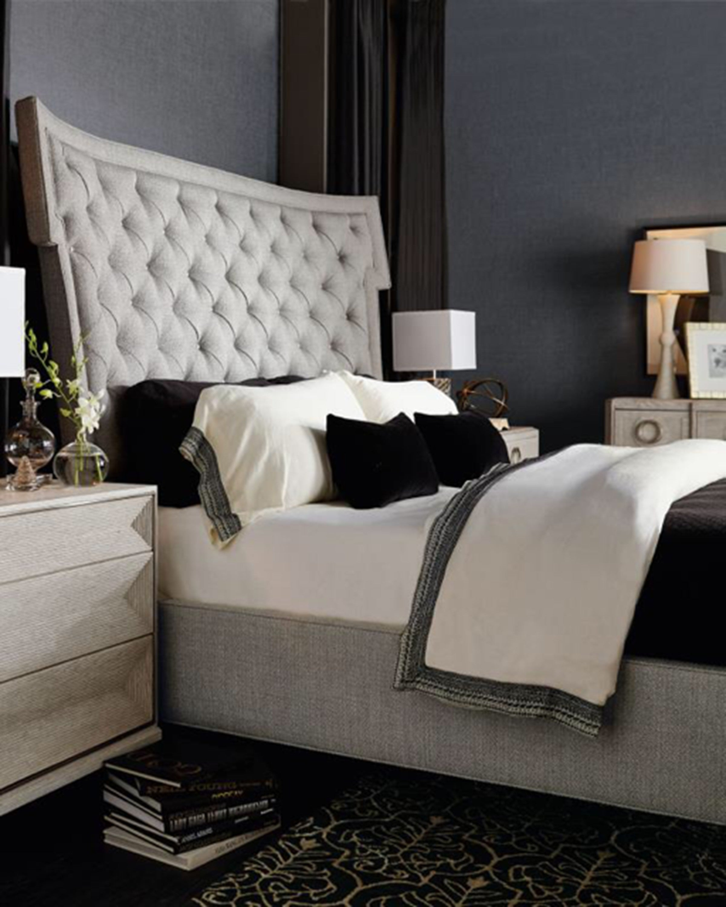 Luxury stylish bed sets with brown pillows | Angie Homes