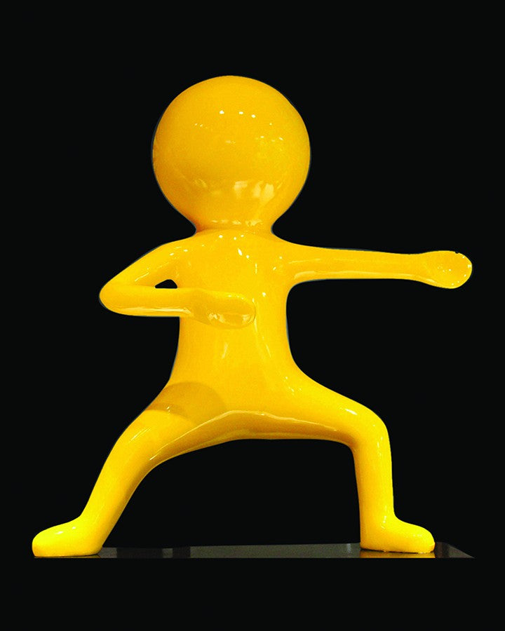 WES  YELLOW BOY SCULPTURE(1 piece) ANGIE HOMES