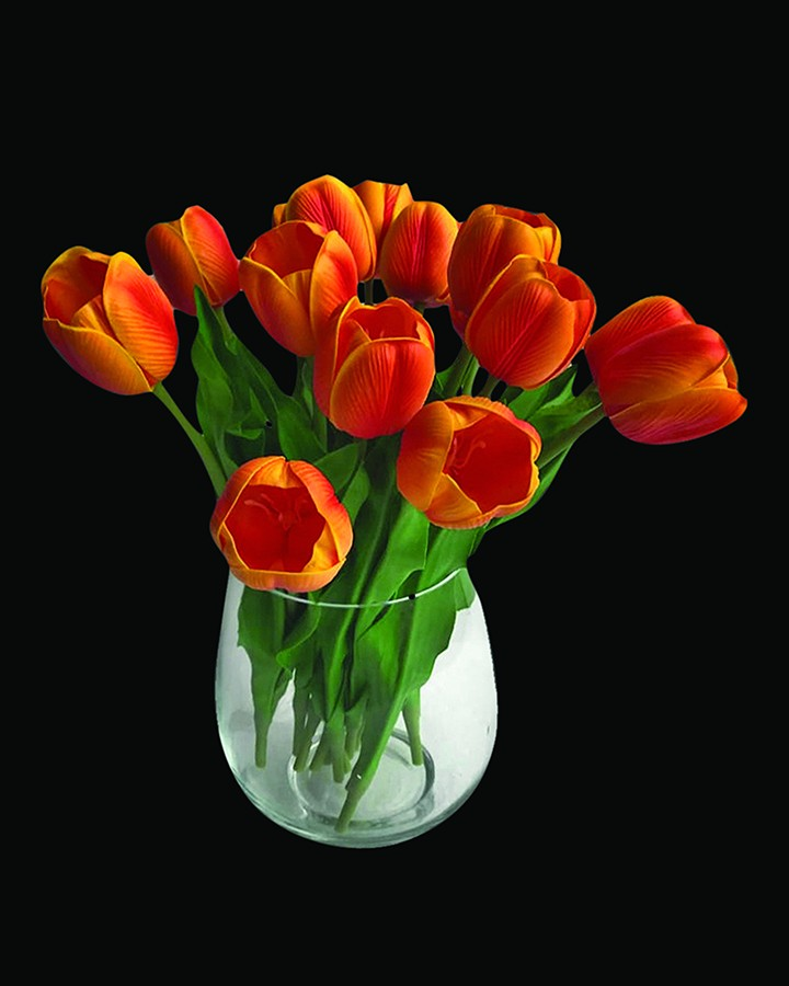 YAMADA ORANGE ARTIFICIAL FLOWER ANGIE HOMES