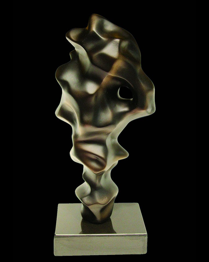 ZIV ABSTRACT BLACK SCULPTURE(1 piece) ANGIE HOMES
