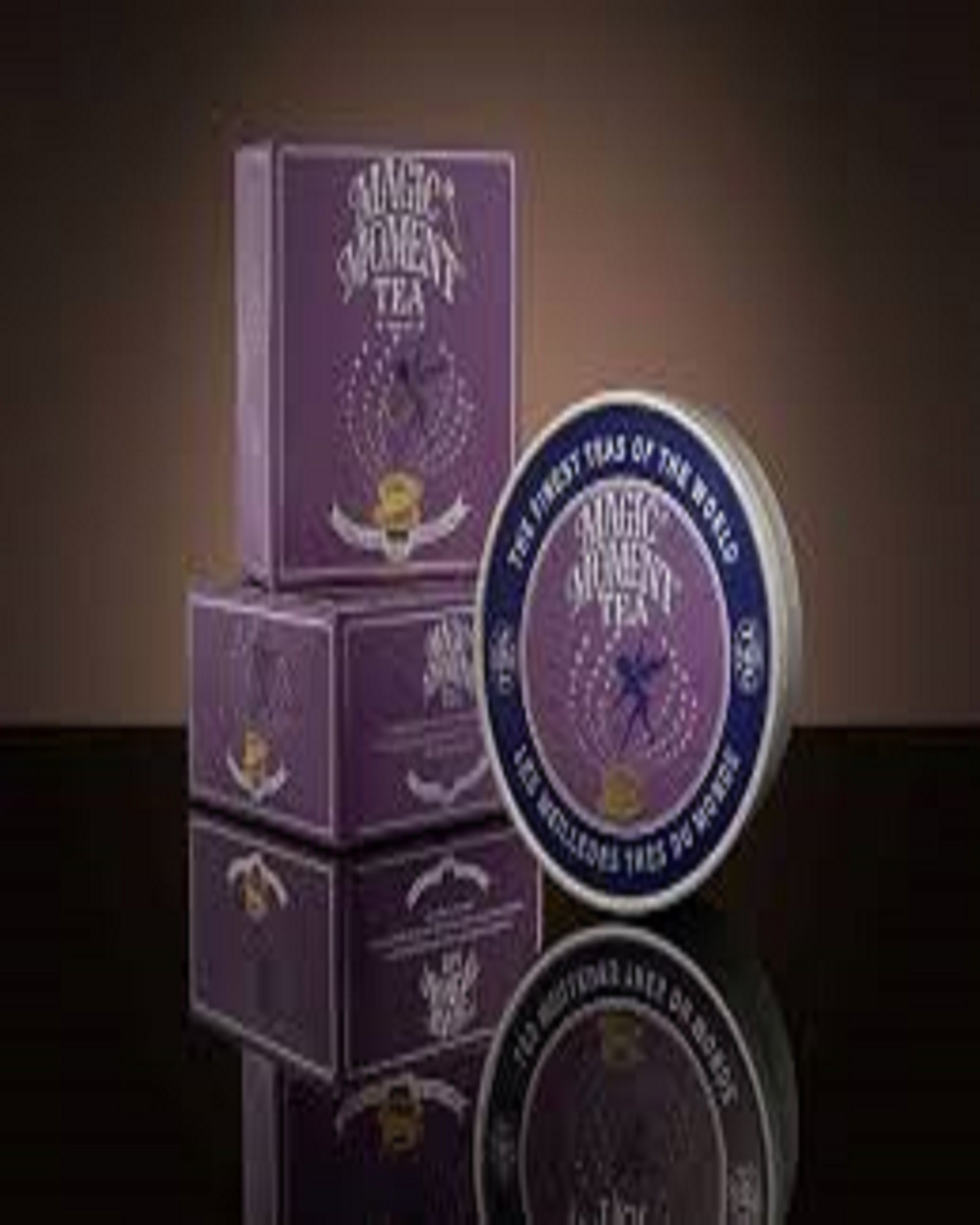PURPLE MAGIC MOMENTS  TEA- ANGIE'S INDIA