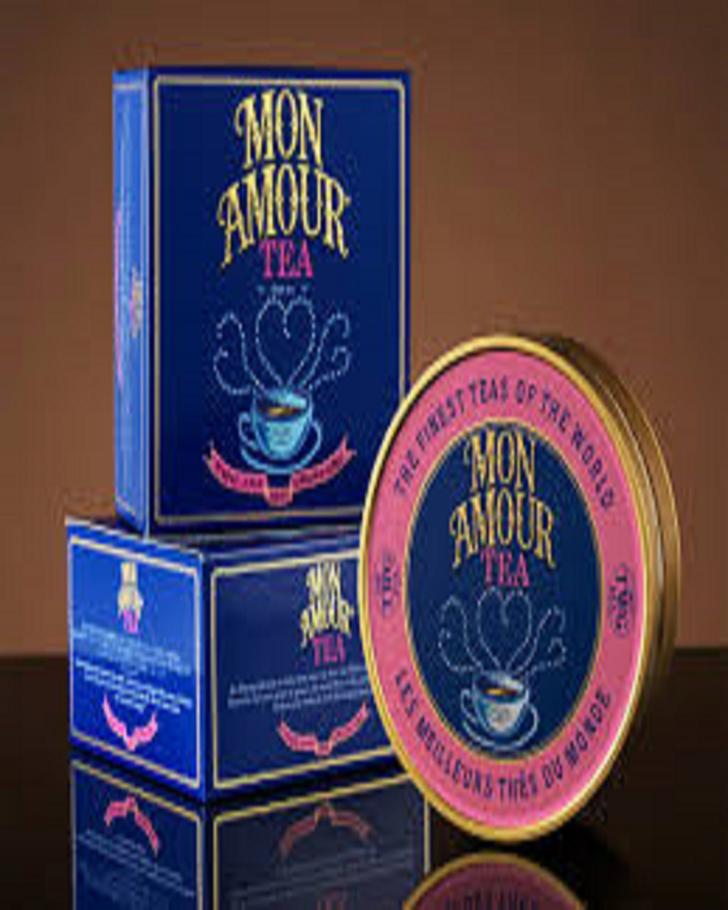 MON AMOUR  BLUE TEA - ANGIE'S INDIA