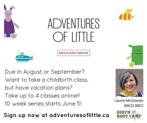 Birth Boot Camp natural childbirth Classes are modern and comprehensive prenatal classes Calgary AB