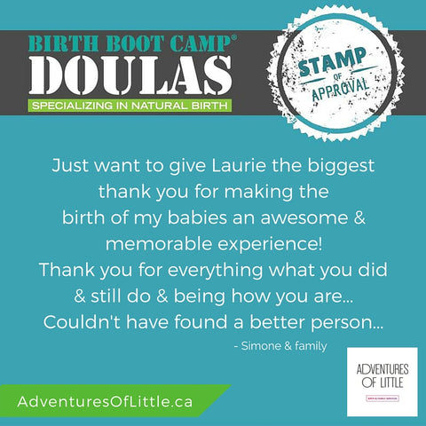 Laurie McGowan Birth Doula and Childbirth Educator Certified from Birth Boot Camp in Calgary Alberta YYC