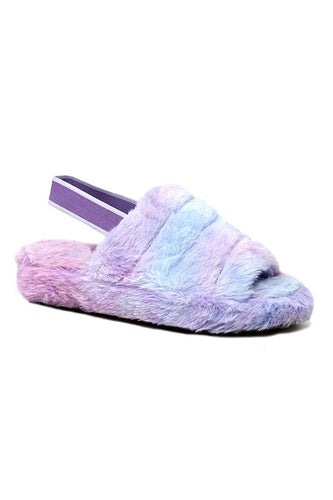 Girls Furry Slippers