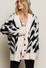 Load image into Gallery viewer, Zebra Overiszed Cardigan