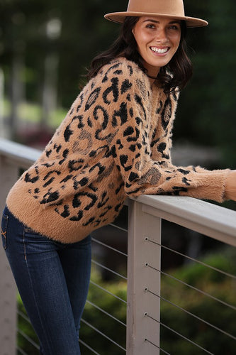 Leopard Pattern Sweater