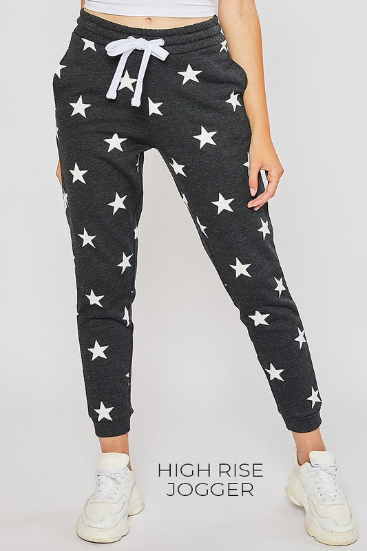 Fleece Star Joggers