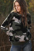 Load image into Gallery viewer, Wanna B Camouflage Knit Sweater