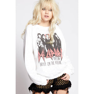 Recycled Karma Def Leppard Heartbreak Sweatshirt