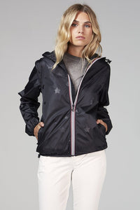 Sloan Gloss Star Packable Rain Jacket