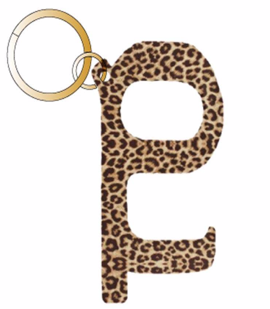 Cheetah Hands-Free Key Chain & Door Opener