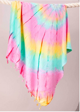 Load image into Gallery viewer, Riviera Towel Company Modern Tie Dye Sarong