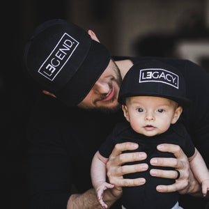 (DAD HAT)  Father's Day Gift - Legend and Legacy Embroidered Hats