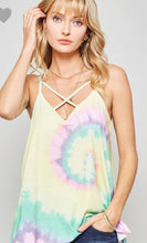 Load image into Gallery viewer, Promesa Tie-Dye Strappy Tank