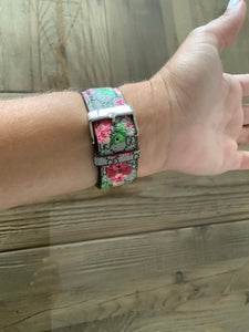 Inspired GG Watch Floral Watch Band