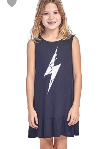 Lightening Bolt Tank Dress