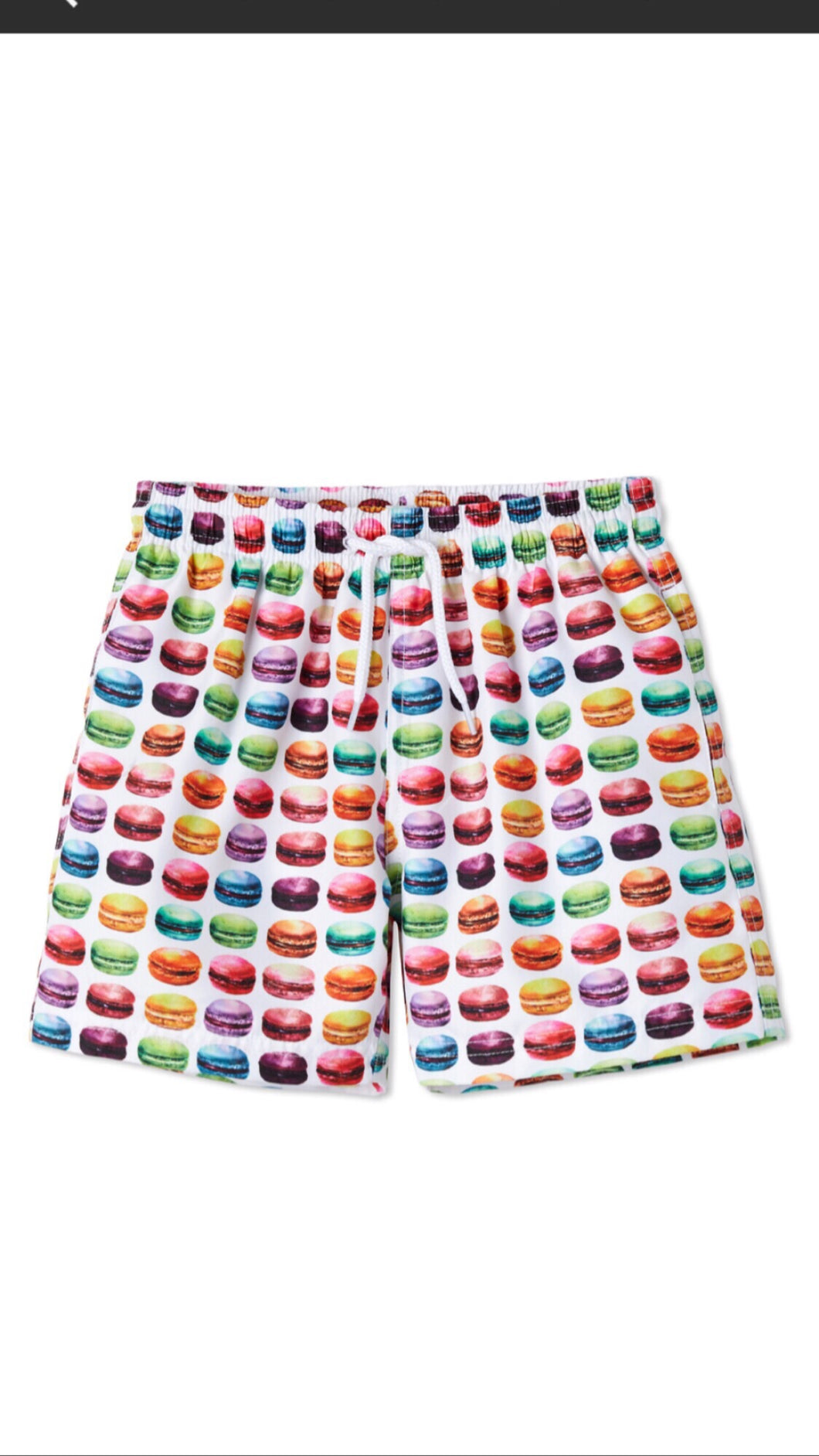 Stella Cove Boys Macaroon Swim Trunk