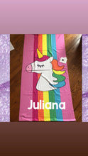 Load image into Gallery viewer, Unicorn Towel