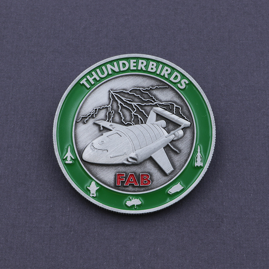 Official Thunderbird 2 Coin - The Koyo Store