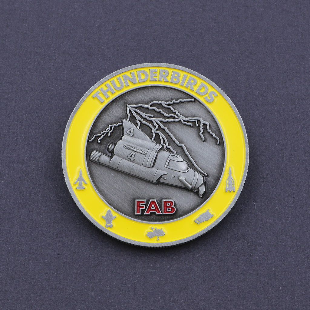 Official Thunderbird 4 Coin - The Koyo Store