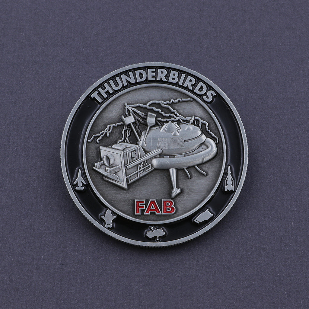 Official Thunderbird 5 Coin - The Koyo Store