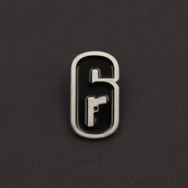 6-Siege Logo Pin - The Koyo Store