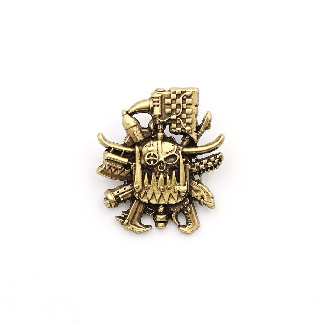 Warhammer 40,000 Ork 3D Artifact Pin