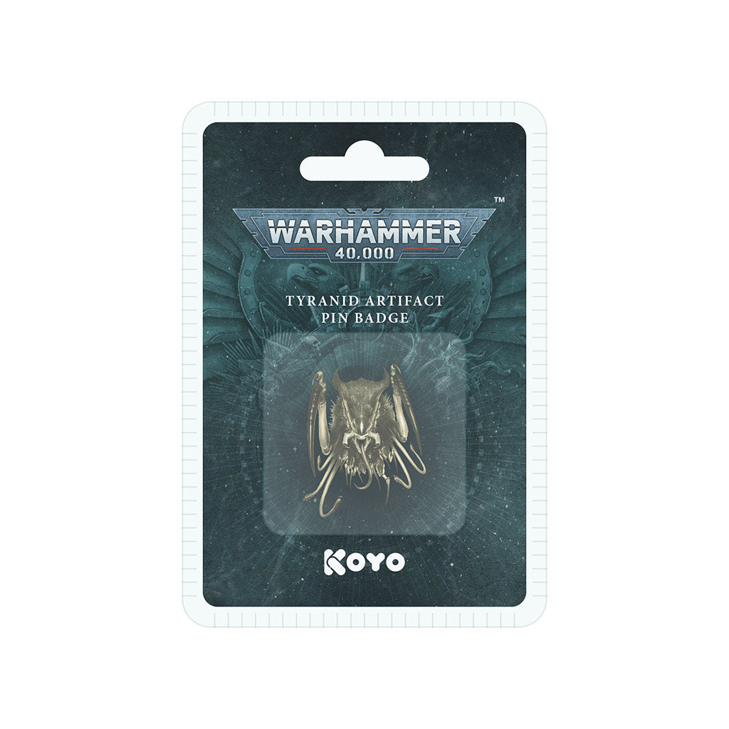 Warhammer 40,000 Tyranid 3D Artifact Pin