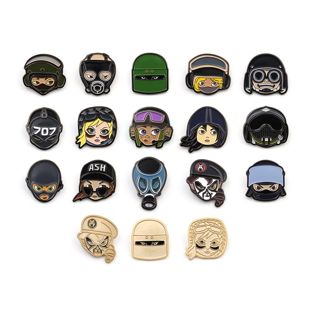 Mystery Chibi Pin Badge (12 PACK)