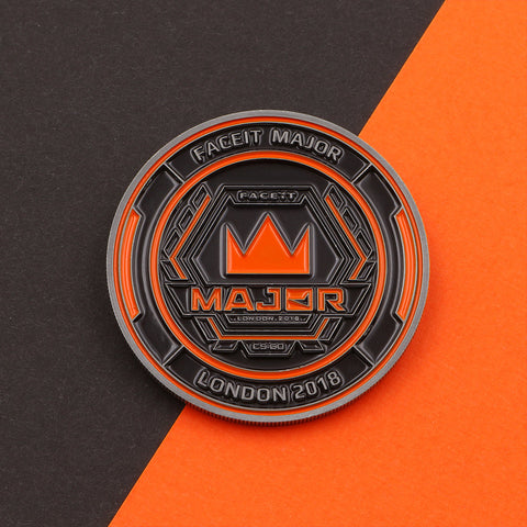 Official FACEIT Major 2018 Coin - The Koyo Store