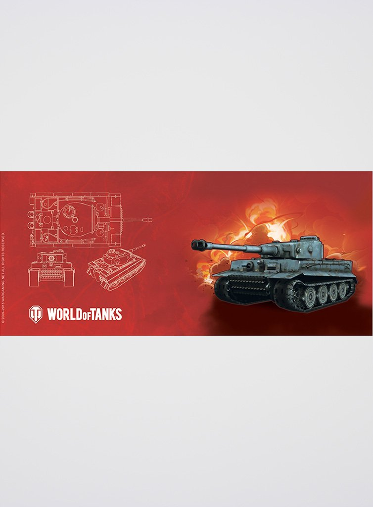 World of Tanks Mug Blueprint