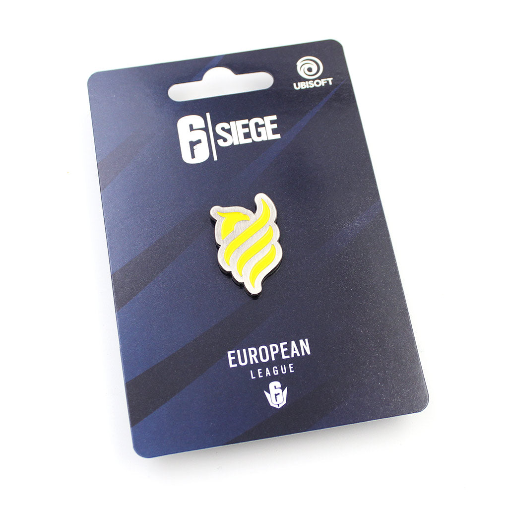 European League Pin