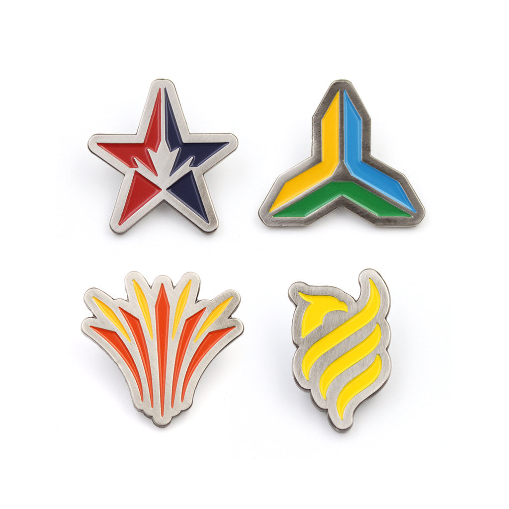 Esports League Pin Badges (Pick your Region)