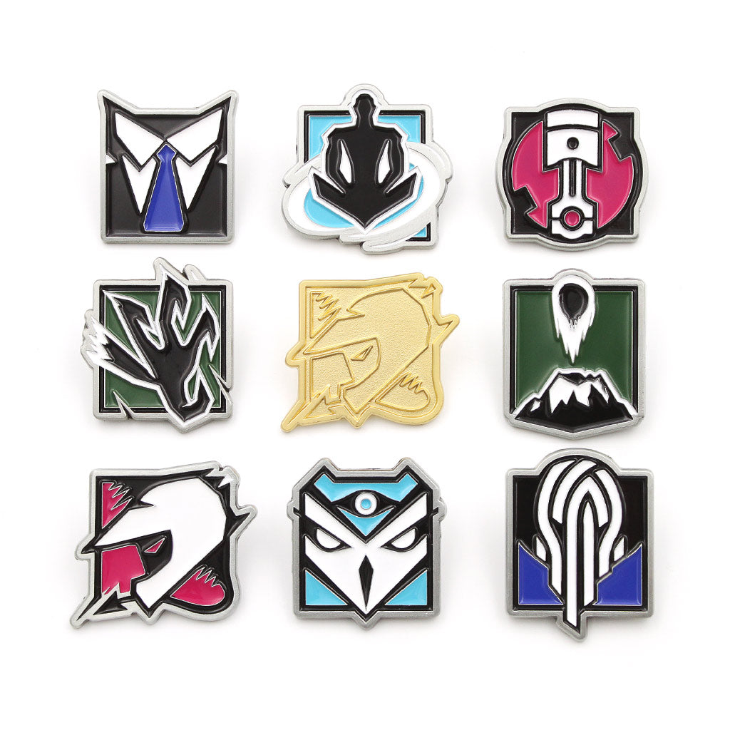 Operator Pin Bundle Series 5 - Six Collection