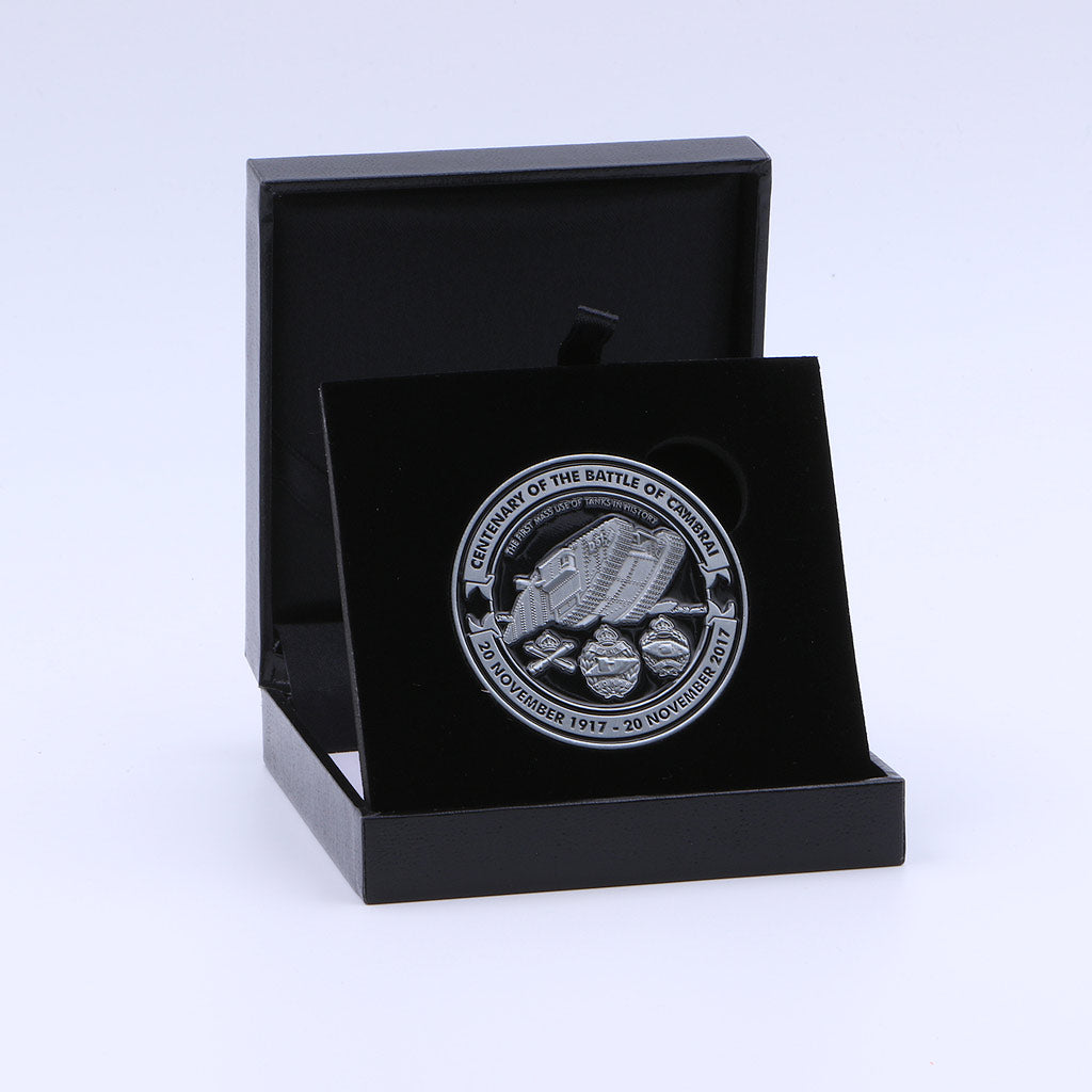 Royal Tank Regiment Cambrai Coin - The Koyo Store