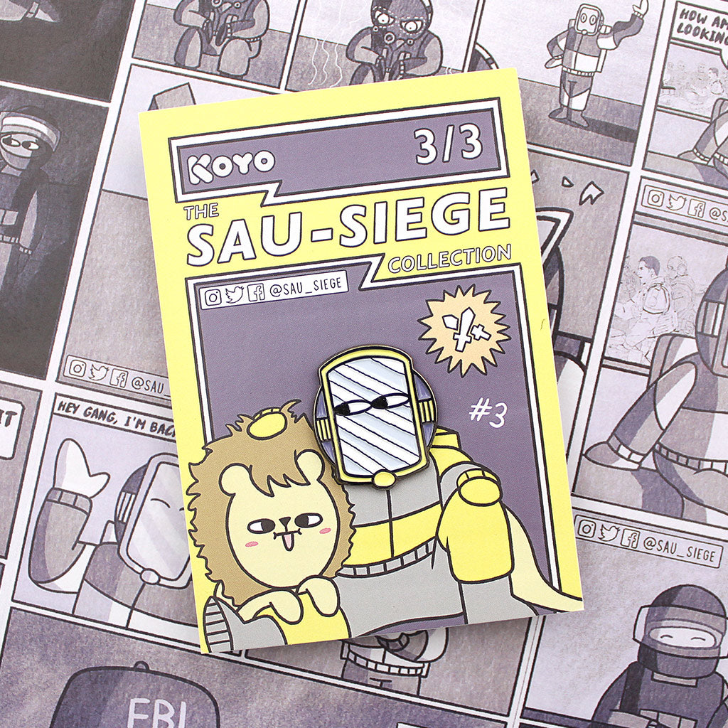 SAU-SIEGE Lion Pin