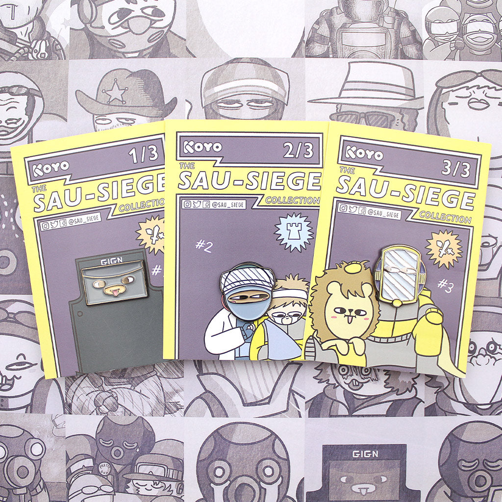 SAU-SIEGE Series 1 Pin Bundle