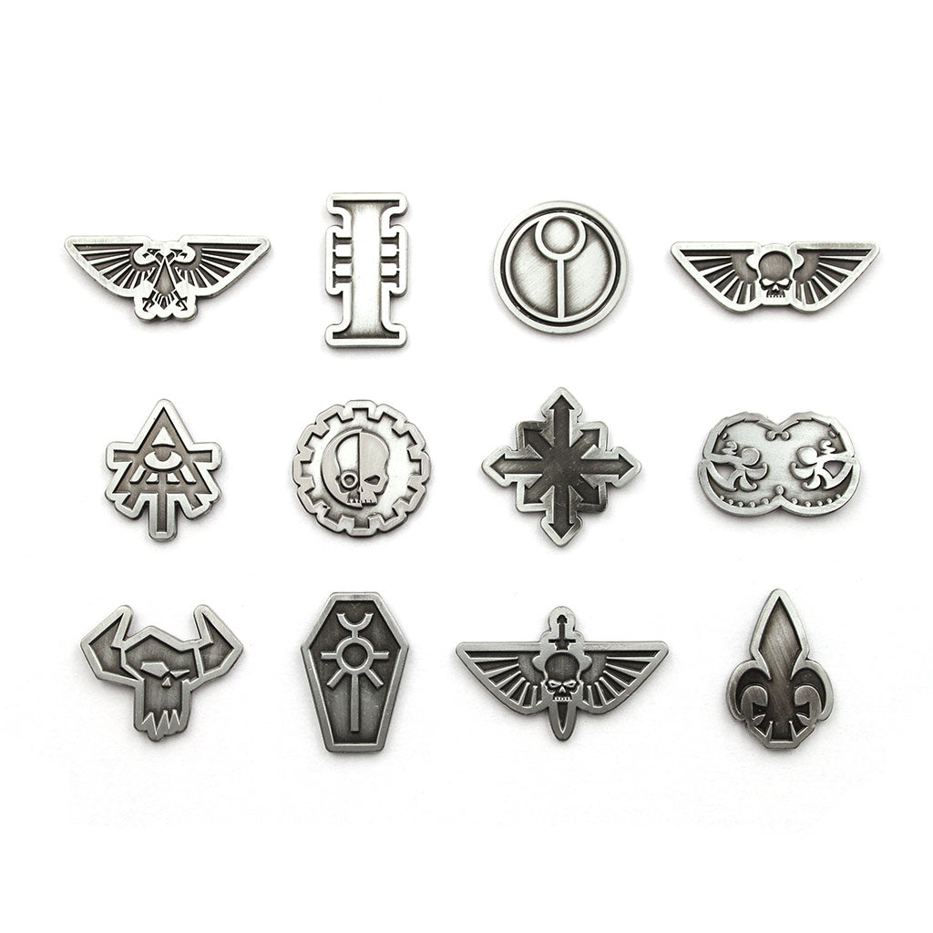 Warhammer 40,000 Mystery Faction Pins