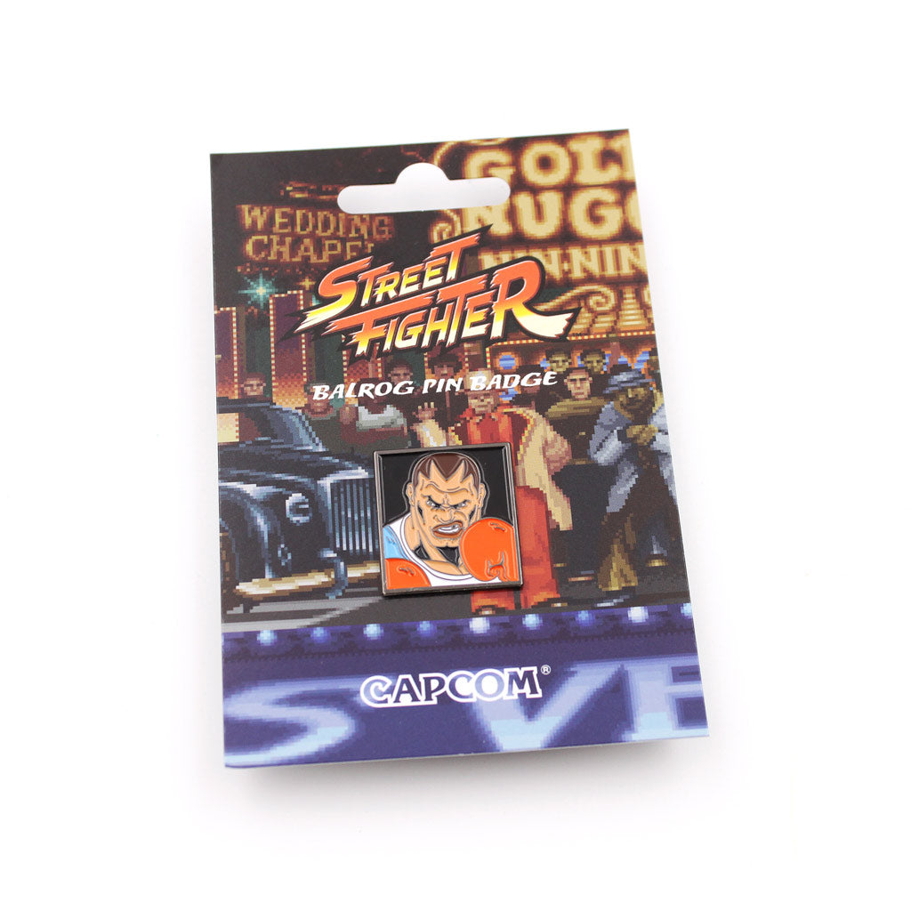Balrog Street Fighter Pin - The Koyo Store