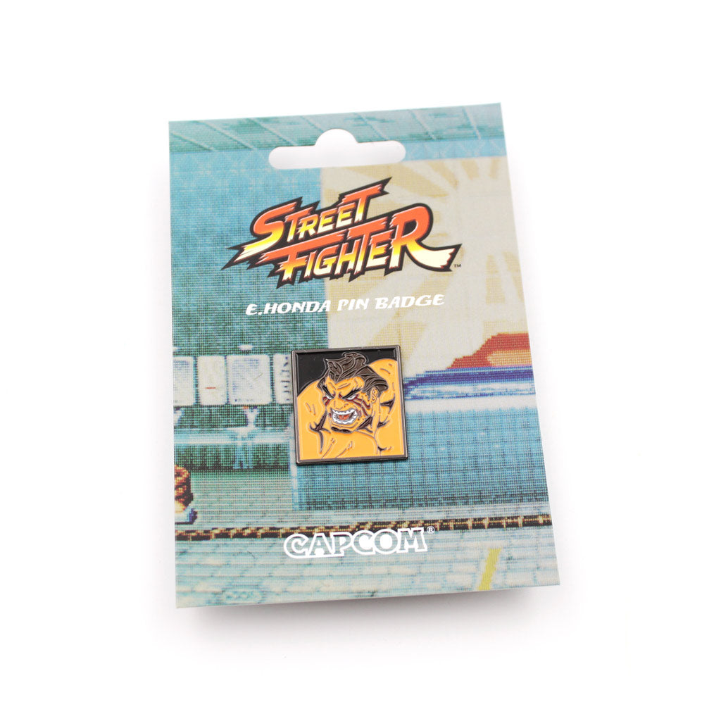 E. Honda Street Fighter Pin - The Koyo Store